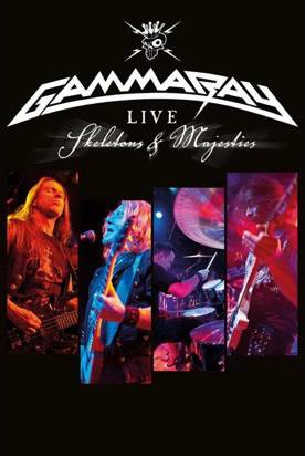 "Gamma Ray ""Skeletons & Majesties Live Dvd"""