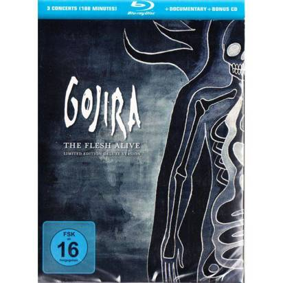 "Gojira ""The Flesh Alive Deluxe Edition BRCD"""
