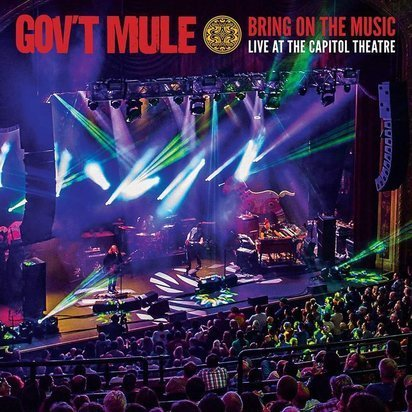 "Gov't Mule ""Bring On The Music - Live at The Capitol Theatre CD"""