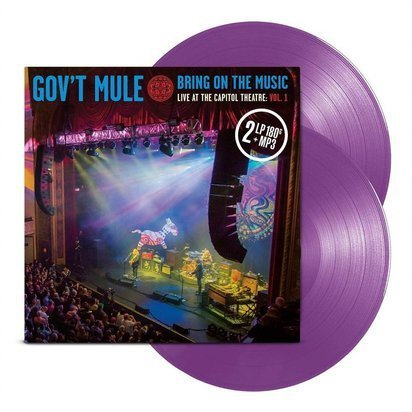 "Gov't Mule ""Bring On The Music - Live at The Capitol Theatre Vol 1 PURPLE LP"""