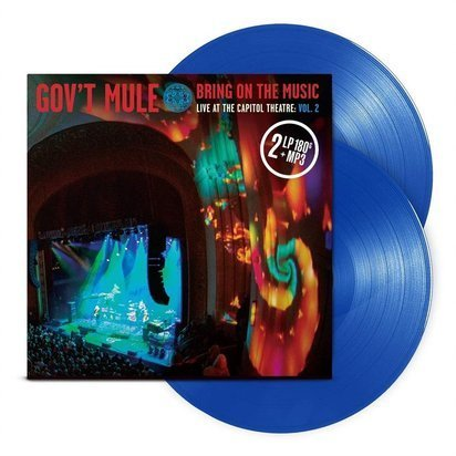 "Gov't Mule ""Bring On The Music - Live at The Capitol Theatre Vol 2 BLUE LP"""