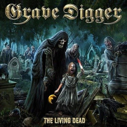 "Grave Digger ""The Living Dead LP"""