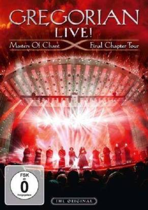 "Gregorian ""Live Masters Of Chant Final Chapter Tour Dvd"""