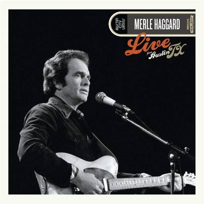 "Haggard, Merle ""Live From Austin Black LP"""