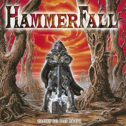 "Hammerfall ""Glory To The Brave LP"""