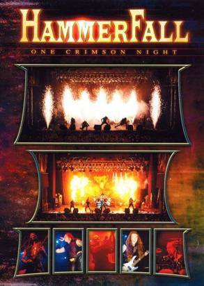 "Hammerfall ""One Crimson Night Dvd"""