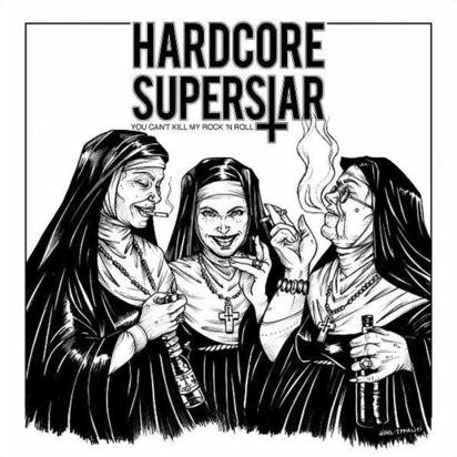 "Hardcore Superstar ""You Can't Kill My Rock N Roll Black LP"""