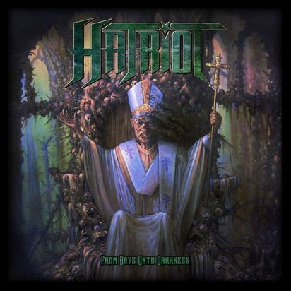 "Hatriot ""From Days Unto Darkness LP"""