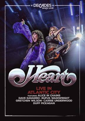 "Heart ""Live in Atlantic City DVD"""
