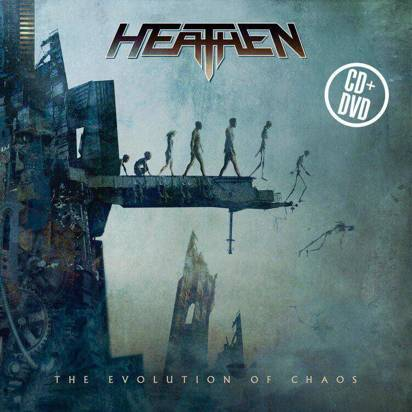 "Heathen ""The Evolution of Chaos - 10th Year Anniversary CDDVD"""