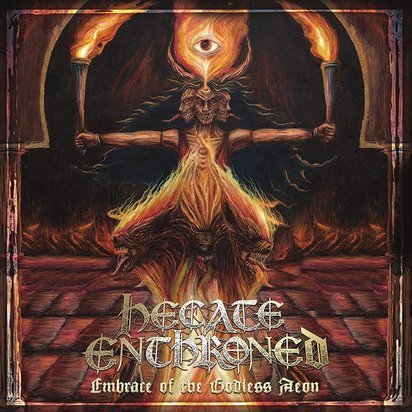 "Hecate Enthroned ""Embrace Of The Godless Aeon LP"""