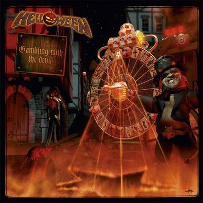 "Helloween ""Gambling With The Devil Clear LP"""