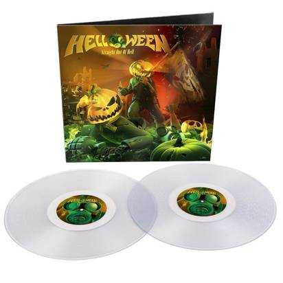 "Helloween ""Straight Out Of Hell Remastered 2020 Clear LP"""