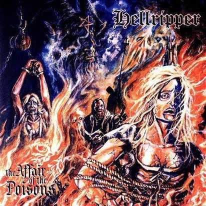 "Hellripper ""The Affair Of The Poisons LP"""
