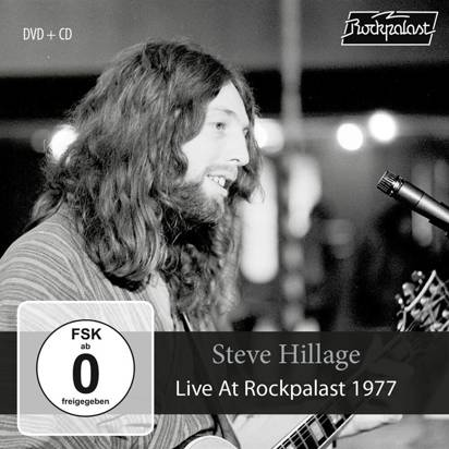 Hillage, Steve - Live At Rockpalast 1977 CDDVD