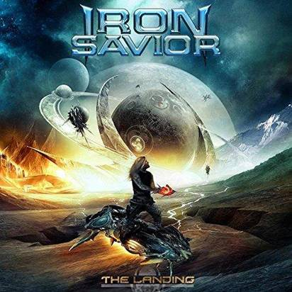 "Iron Savior ""The Landing Blue Lp"""