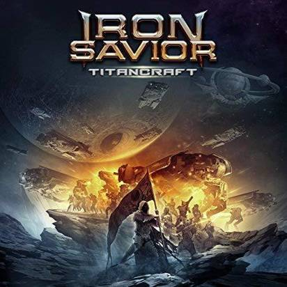 "Iron Savior ""Titancraft Clear Lp"""