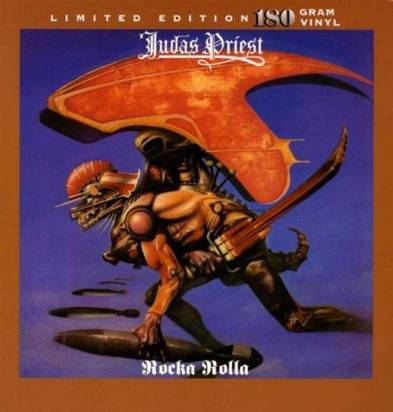 "Judas Priest ""Rocka Rolla Lp"""