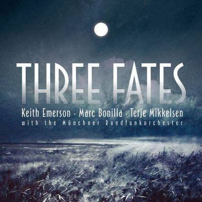 "Keith Emerson / Marc Bonilla / Terje Mikkelsen ""Three Fates"""