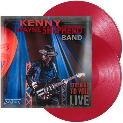 "Kenny Wayne Shepherd ""Straight To You Live LP RED"""