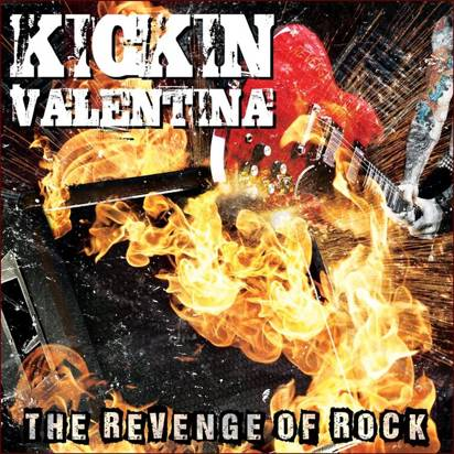"Kickin Valentina ""The Revenge Of Rock LP RED"""
