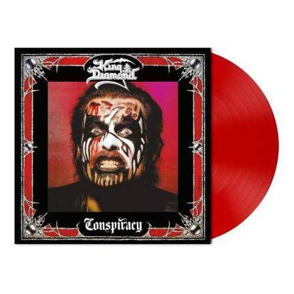 "King Diamond ""Conspiracy Opaque Cherry Red LP"""