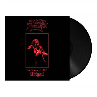 "King Diamond ""In Concert 1987 Black LP"""