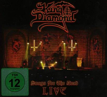 "King Diamond ""Songs For The Dead Live CDDVD"""