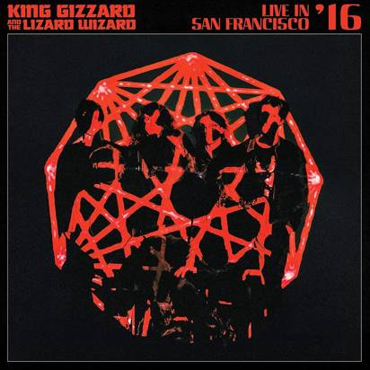 "King Gizzard & The Lizard Wizard ""Live In San Francisco 16 LP COLORED"""