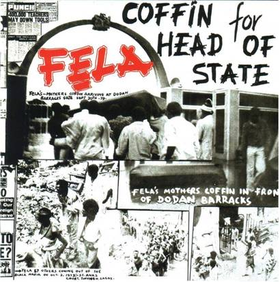 "Kuti, Fela ""Coffin For Head Of State LP"""