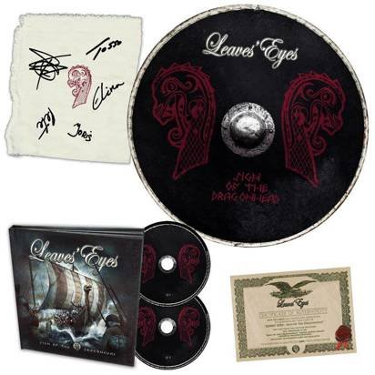 "Leaves Eyes ""Sign Of The Dragonhead Fanbox"""
