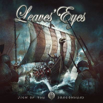 "Leaves Eyes ""Sign Of The Dragonhead White Lp"""