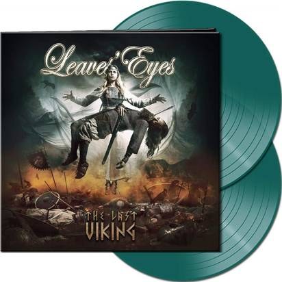 "Leaves Eyes ""The Last Viking LP GREEN"""