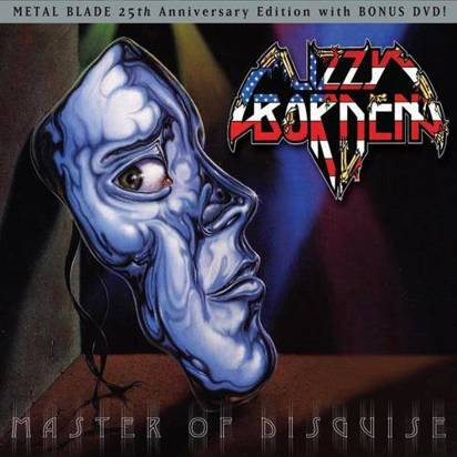 "Lizzy Borden ""Master Of Disguise"" Cd+Dvd"