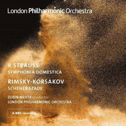 "London Philharmonic Orchestra Zubin Metha ""Mehta Conducts Strauss And Rimsky Korsakov"""