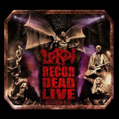 "Lordi ""Recordead Live - Sextourcism In Z7 CDBR"""
