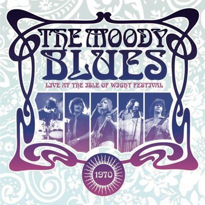 "Moody Blues, The ""Live At The Isle Of Wight 1970 Violet LP"""
