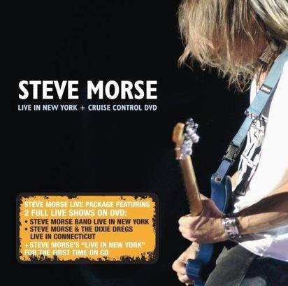 "Morse, Steve ""Live In New York / Cruise Control"""
