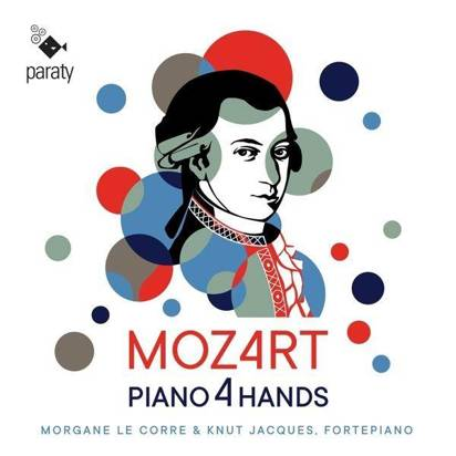 Mozart - Piano 4 Hands Jacques Le Corre