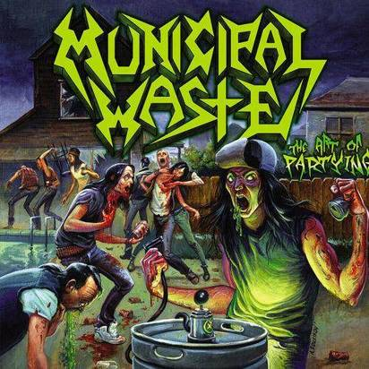 "Municipal Waste ""The Art Of Partying DigiCD"""