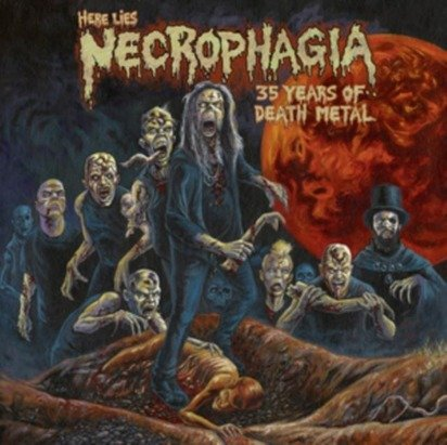 "Necrophagia ""Here Lies Necrophagia 35 Years Of Death Metal"""
