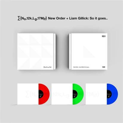"New Order ""Live at Manchester International Festival LP"""