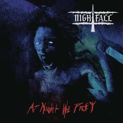 "Nightfall ""At Night We Prey LP BLACK"""