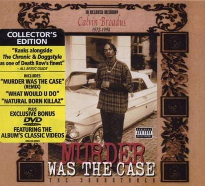 "OST ""Murder Was The Case Limited Edition"""