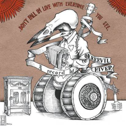 "Okkervil River ""Don't Fall In Love With Everyone You See Lp"""