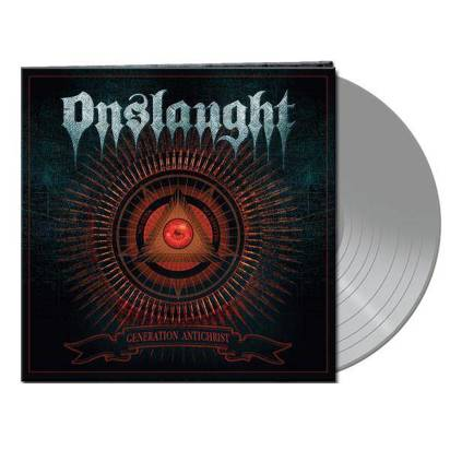 "Onslaught ""Generation Antichrist Clear Silver LP"""