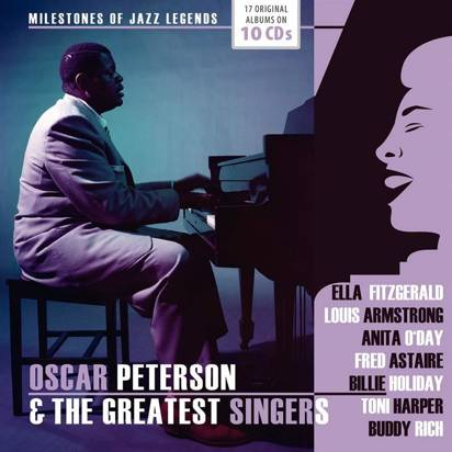 "Oscar Peterson & The Greatest Singers ""Original Albums"""