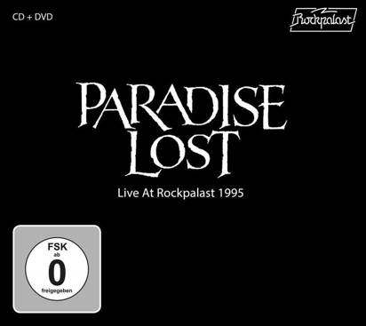 "Paradise Lost ""Live At Rockpalast 1995 CDDVD"""