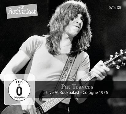 "Pat Travers ""Live At Rockpalast Cddvd"""