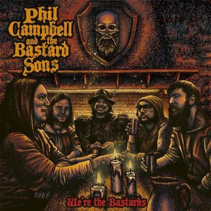 "Phil Campbell And The Bastard Sons ""We're The Bastards LP"""